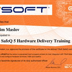 YSOFT HARDWARE DELIVERY